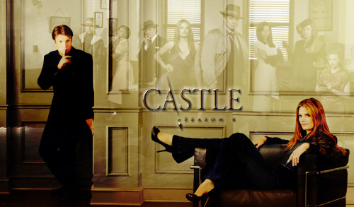 freakyx:  Castle Season 4 Wallpaper (1024x600)