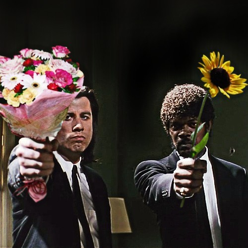 jaymug:  Pulp Fiction - Flowers