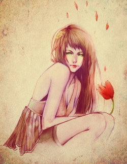 emosloppy:  Strawberry Maiden by *Faelicia