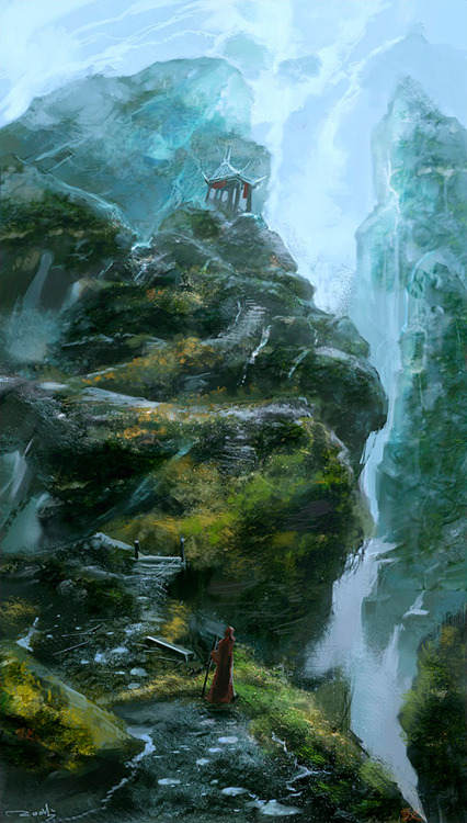theartofanimation:  Kuang Hong