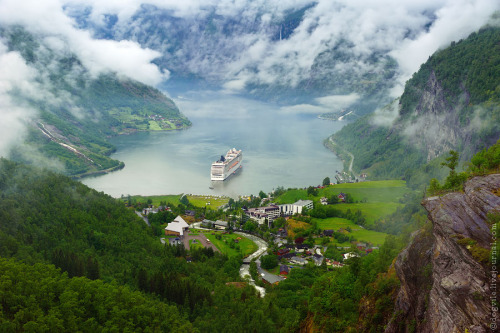 """Fjord"", Norway by Ghost Farm"