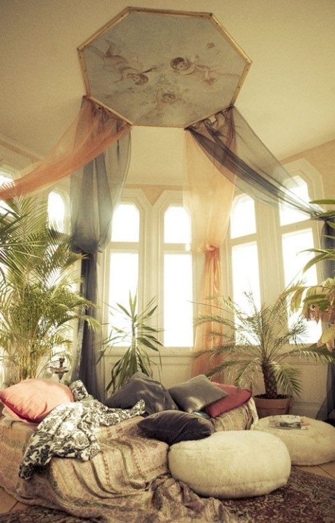 My Bohemian Home ~ Bedrooms and Guest Rooms Bohemian romance….
