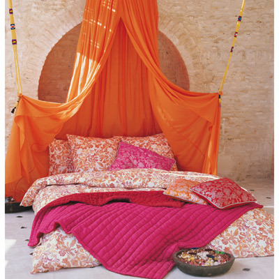 My Bohemian Home ~ Bedrooms and Guest Rooms I love a bright and cheery bedroom.