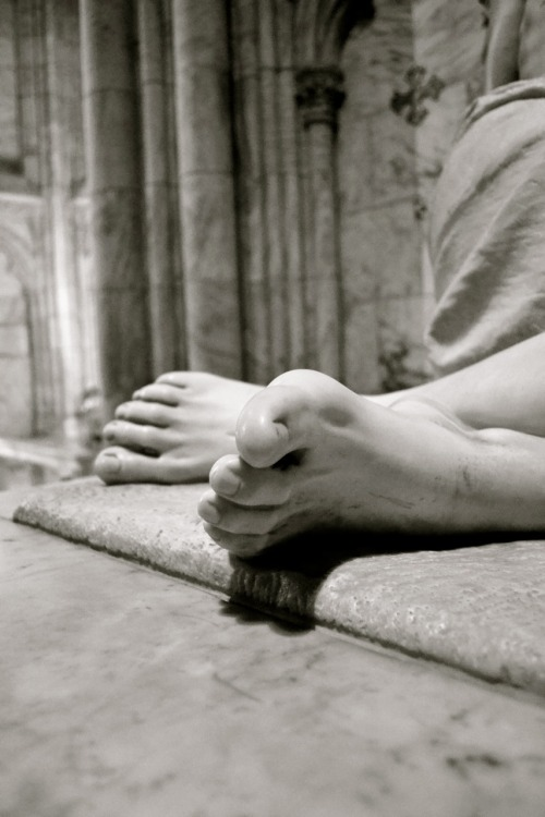 Feet of Jesus: Partridge's Pieta, St. Patrick's Cathedral Photographed by Jennifer Weber on May 12, 2011 New York, New York