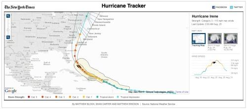 Interactive hurricane tracker via NYTimes. Cool.