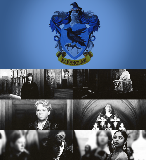 "thefirsthorcrux:  ""Or yet in wise old Ravenclaw,If you've a ready mind,Where those of wit and learning,Will always find their kind."""
