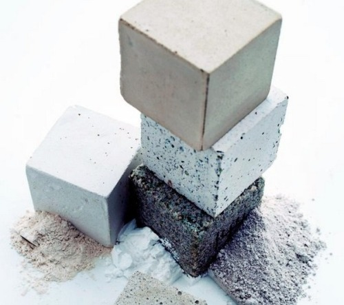 Material of the Year: concrete with a negative carbon footprint by Novacem.