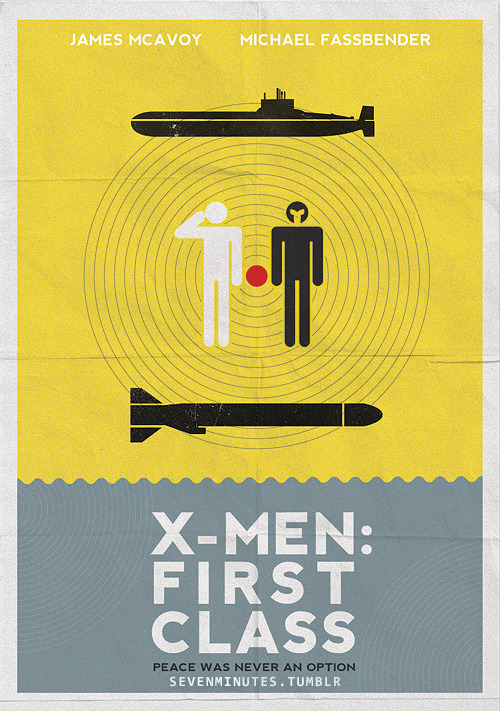 minimalmovieposters:  X-Men: First Class by Ana S.Buy it here