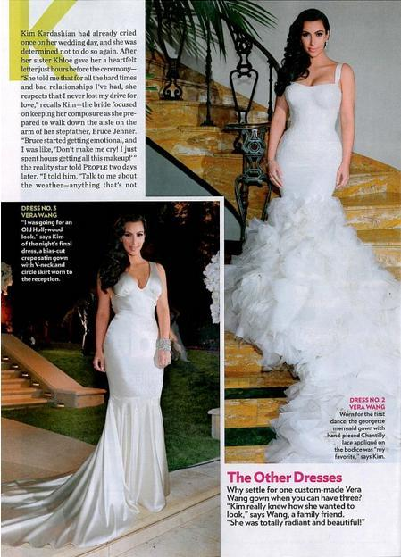 fuckyeahweddingideas:  I loved Kim's Vera Wang dresses.