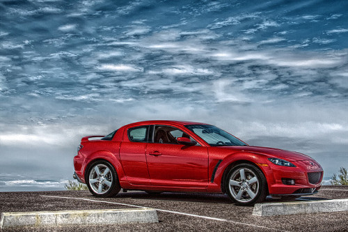 RX8 in HDR by timaz (TimClarkeHDR.com) on Flickr.#Mazda #RX8 #RotaryThursday