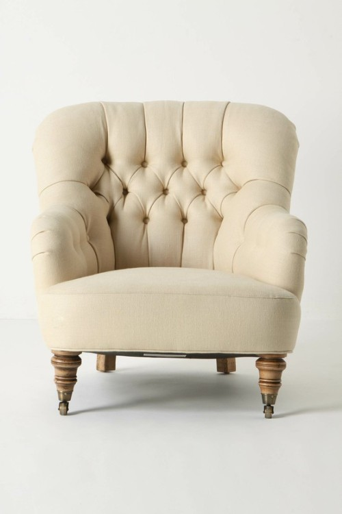 comfy chair from anthropologie