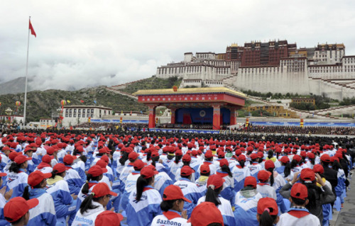Robert Barnett, China's 'Liberation' of Tibet: Rules of the Game  China's Vice-President Xi Xinping's speech in Lhasa marking 'the sixtieth anniversary of the liberation of Tibet' was broadcast live on Chinese state television, an exceptional event and an indication of its national importance. Watching Xi deliver it gives a much more complex impression both of him and of China: the visual information largely conveys the opposite of Xi's words.
