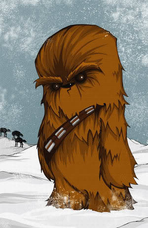 willyoumareepme:  lol chewie looks so angry