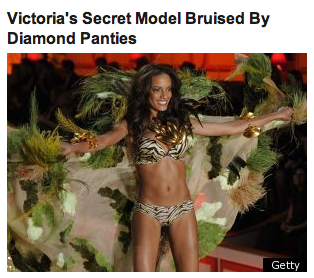Being a supermodel has to be THE WORST.  Also, this article was front page Huff Post news.