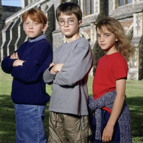 surlytemple:  The first ever trio cast photo.
