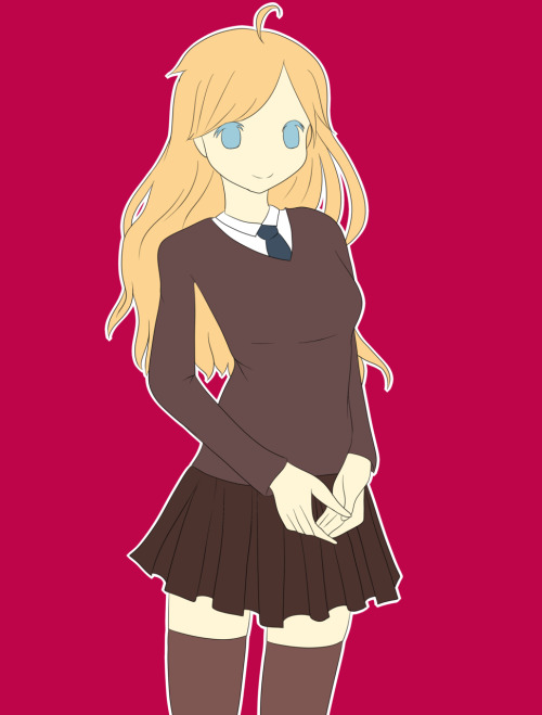 Luna Lovegood WIP I've been working on it since 12 -___- (it's almost 18)