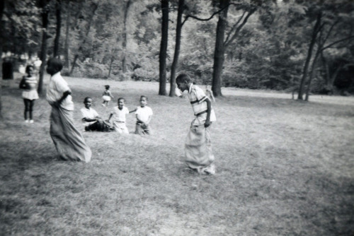 Potato Sack Race [Willis Family Album, 1950's] ©WaheedPhotoArchive, 2011
