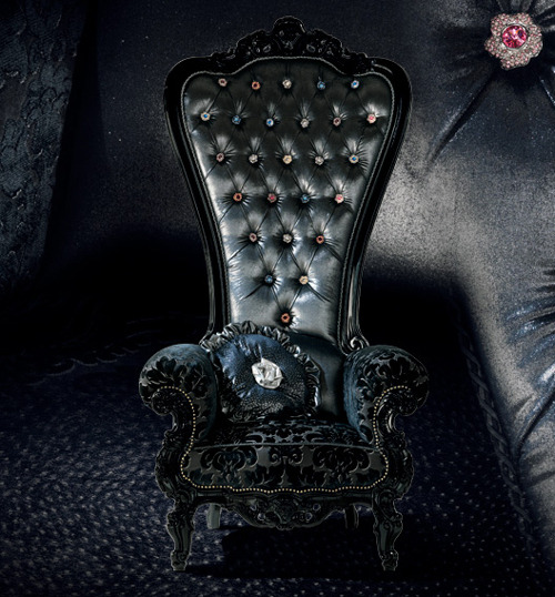 darkhaus:  The Regal Armchair Throne by Italian furniture company Caspani
