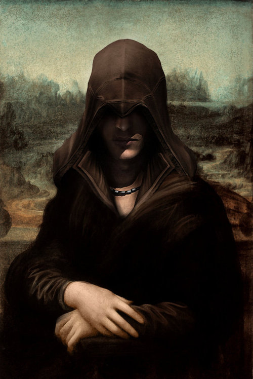 pwnlove:  Mona Ezio by Higarts (via assorted-goodness)