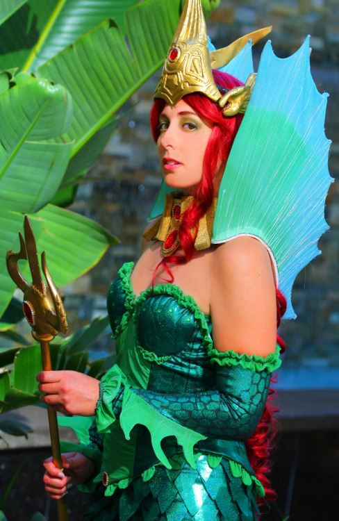 My beautiful friend @HeyKannaya cosplaying Ame-Comi Mera from SDCC. She LOVES Aquaman. dcu:  Just got these awesome photos from Ashley Hay, here's what she had to say (HA, a  rhyme):  Hey there! I wanted to send these photos your way to possibly  post on your blog. The costume is Mera from Aquaman based off the  Ame-Comi figure that came out in May. I have attached some photos of the  costume as well as the photo of the figure. Debuted at SDCC 2011.Credits are as followed:Costume made by Helen AurePhotography by Britt DietzThank you so much!Ashley Hay[Geek + Designer]  No, no no, thank you so much! If any of you have photos you wish to share here, send them to dailydcu(at)gmail(dot)com!