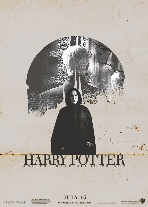 nobodydiesofabrokenheart:  Movie Posters Remake → Harry Potter and the Half-Blood Princeasked by anon