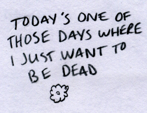 Wish I stay dead too. o_o