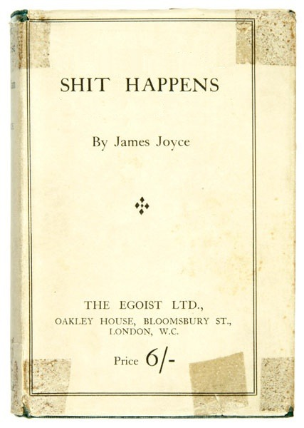 markmcevoy:  mark mcevoy SHIT HAPPENS, 2011 altered book