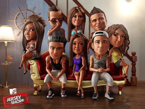 "SO WHO WATCHING JERSEY SHORE TONIGHT TO WATCH MIKE ""THE SITUATION"" AND RONNIE ""RONNIE"" BANG IT OUT!!!I GUESS I WILL"