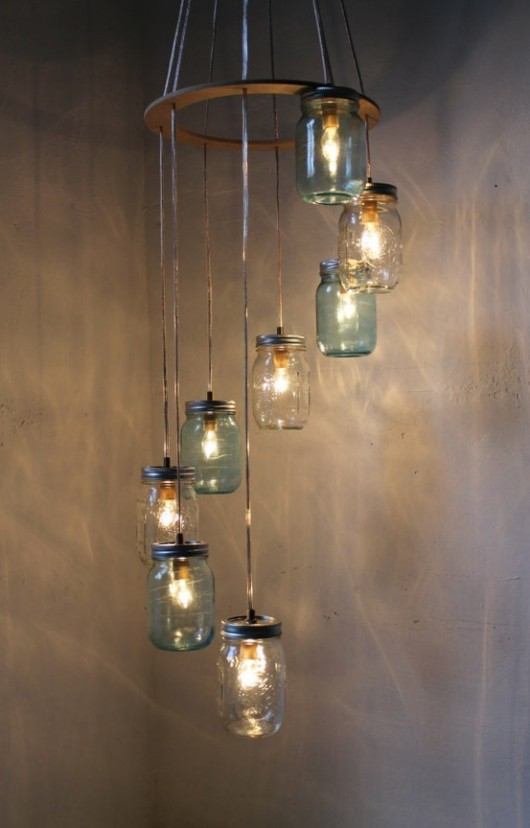 Wonderful wedding chandelier idea