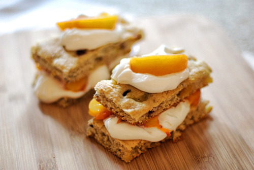 Peaches and Cream Shortcake