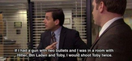 Why does Micheal hate Toby so much??