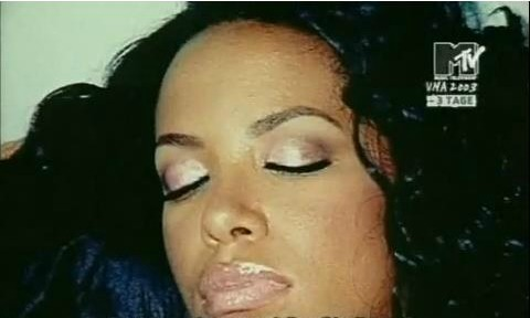 miamimami:  A photo Fatima, Aaliyah's dance choreographer took of the tired singer who had been up since 3 in the morning to film the Rock the Boat music video. As she slept in the cabin below of the yacht that they filmed out on in the ocean of the Bahamas Fatima says that she snapped this shot of her real quick while noticing how beautiful Aaliyah looked while she was resting.