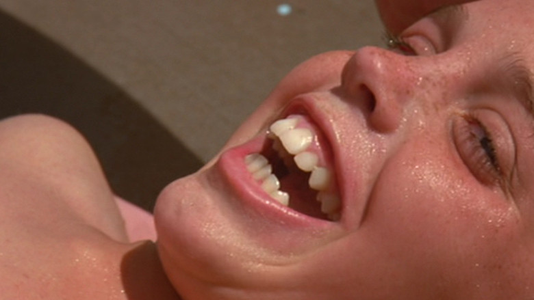 The Sandlot: Instant classic. If you haven't seen this movie, you didn't have much of a childhood. I remember watching this movie with my grandfather, and it was just so great. There are some really classic scenes in this movie: The drowning scene (pictured), the ball recovery attempt scenes, the carnival scene, and of course, the chase scene.