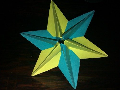 Dominata Star by Ekatarina Lukasheva. Folded by Ajisai.