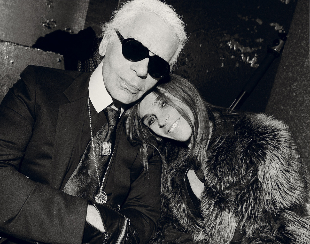 Carine Roitfeld talks to Karl Lagerfeld - Interview Magazine Arguably the most influential people in not only French, but also global fashion sit down to discuss fashion image movement and promotion, inspirations and trends! Full interview can be found here!