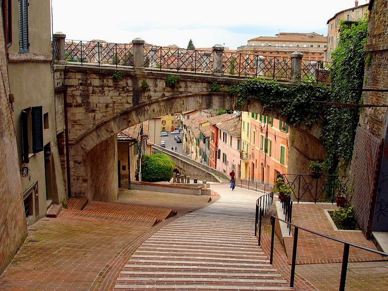 | ♕ |  Aqueduct in Perugia  | by © scudsone | via ysvoice