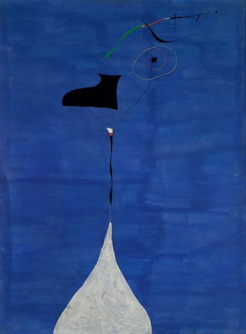 Painting by Joan Miro.