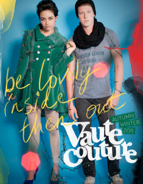 The new Vaute Couture collection is here and it rules! All the new coats are available for preorder right now BUT WAIT THERE'S MORE: they are 45% off until the first! Holy cannoli. That's a good fracking deal. I just ordered the Belden because I wanted one before but they were sold out. But they made more! Happy day! Yes, it's August. But you will need a coat eventually. Unless you are a total thug and do the t-shirt in winter thing. Get down with your bad self, you cold-hearted bastard. BUT WAIT THERE'S MORE! I got this email from Jenith at VC just as I was finishing this post: Today I am specifically writing to you about Vaute Couture and their their upcoming A/W 2011 Collection: North American Grand Tour.  The super sweet Leanne Mai-ly Hilgart, founder, is setting up one on  one appointments and pop-up shops across the country for pre-viewing and  to preorder  this seasons coats, at special tour SALEprices!! This  is one of few times the public gets to view the entire collection first  hand, be offered awesome sale prices AND meet Leanne.Vaute Couture is coming to : LA, San Francisco, Portland, NYC, Chicago, Toronto, and Montreal. Here is the Autumn/Winter 2011 LookBook. Find all additional details on our blog!