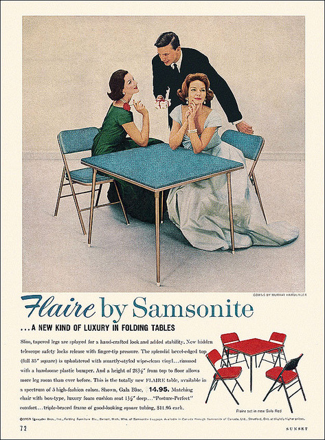 Samsonite Flaire Ad, 1959
