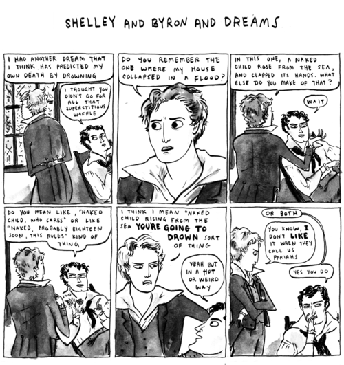 harkavagrantfeed:  Hark, a Vagrant: Shelley and Byron