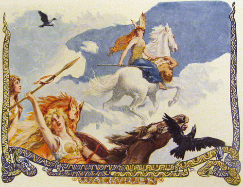 Valkyries by Emil Doepler
