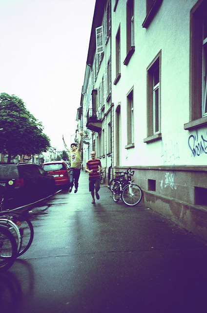 through the rain | Lomo LC-A+ on Flickr.