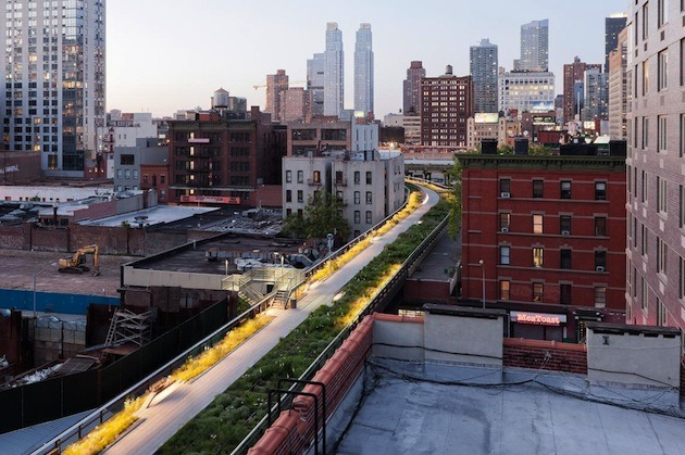 nybooks:  Martin Filler: Eyes Above the Street: The High Line's Second Installment Rarely do additions to works of architecture or engineering by the same designers who created the originals attract as much comment as the initial installments. Thus there was some question as to just how much excitement could be generated by the debut this June of the second segment of the High Line, which runs between West 20th and West 30th streets. Happily, the same elated reaction that greeted the first segment occurred again this summer, as the newly completed middle portion of the High Line revealed that rather than being simply more of the same, the park is evolving into a much more varied experience than many had anticipated.