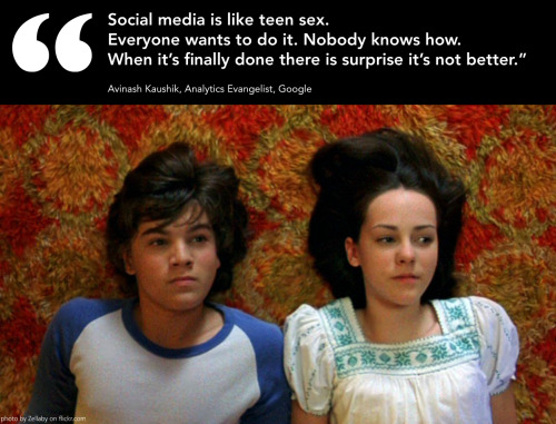 doubleuohoh:  Social media is like teen sex