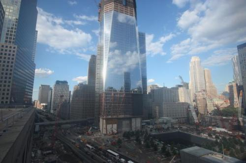 I watched Rising: Rebuilding Ground Zero last night, and it made me cry. The people who have put their lives into doing this are so amazing. They are the hope for America.  The fallen are rising again. And it's beautiful.
