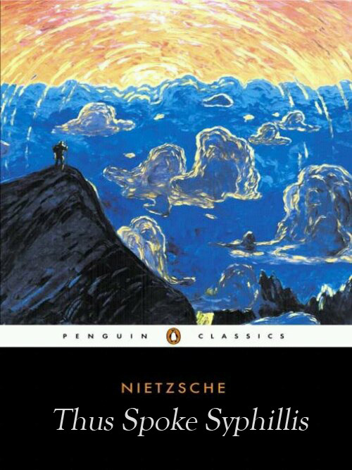 betterbooktitles:  Friedrich Nietzsche: Thus Spoke Zarathustra Reader Submission: Title and Redesign by Kyle Maddock