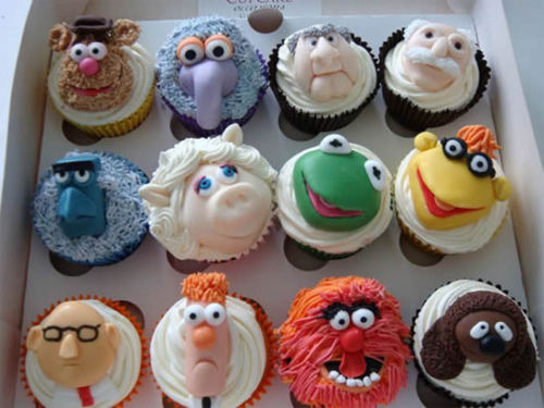 #Muppet cupcakes! Found this on Google+ - not my photo but too amazing not to share.