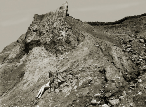 Dan Ranalli, Nude with Cliff, 1974. This photograph will be on display in the Panopticon Gallery 40th Anniversary exhibition from Sept. 8 - Oct. 31, 2011.