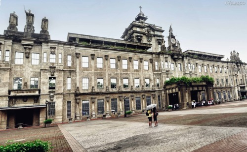 UST main building.