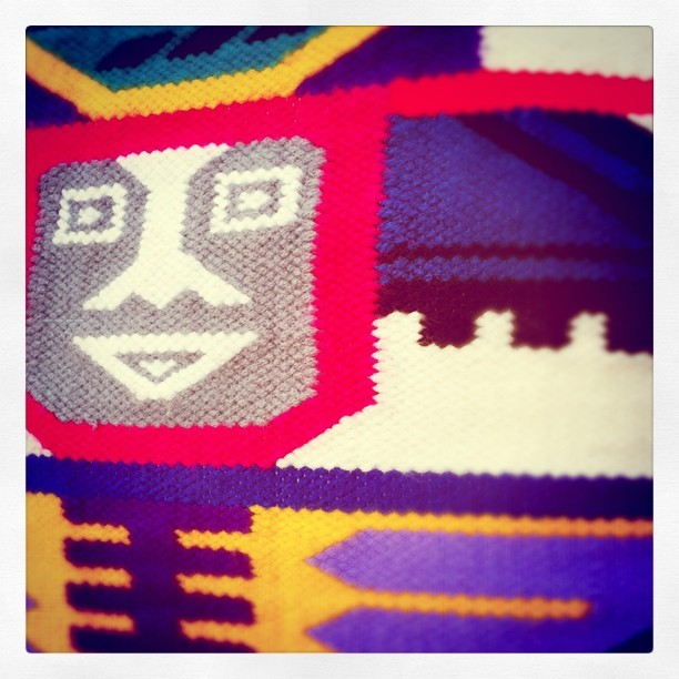 Aztec denim  (Taken with instagram)